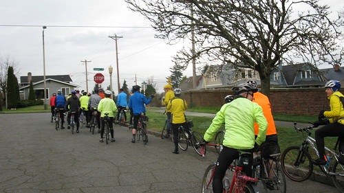Tacoma Wheelmen Mon Hale Hearty & Ready for Coffee Ride  Feb 1st 009