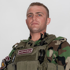 Check-point (Olivier Timbaud) Tags: portrait soldier soldat kurdistan irak kurdish kurdi dohuk kurde oliviertimbaud