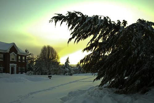 Post-Blizzard Sunset
