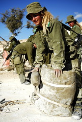 Field Training Week for Ground Forces (Israel Defense Forces) Tags: girls israel women soldiers israeli idf womensoldiers idfsoldiers israeldefenseforces groundforces girlsoldiers femalesoldiers infantryinstructors