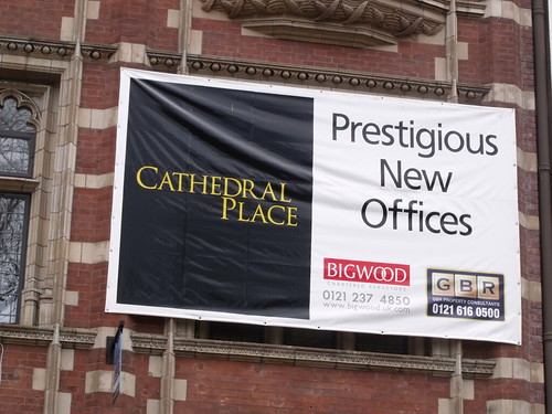 Caffe Nero - Temple Row West (former Birmingham Midshires) - Cathedral Place banner