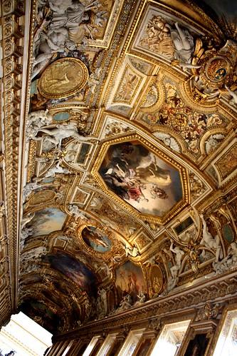 galerie d'apollon, louvre paris