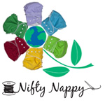 Nifty Nappy Cloth Diapers: Growing up Green