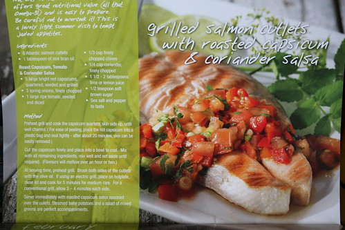 February Meal: Salmon and Salsa
