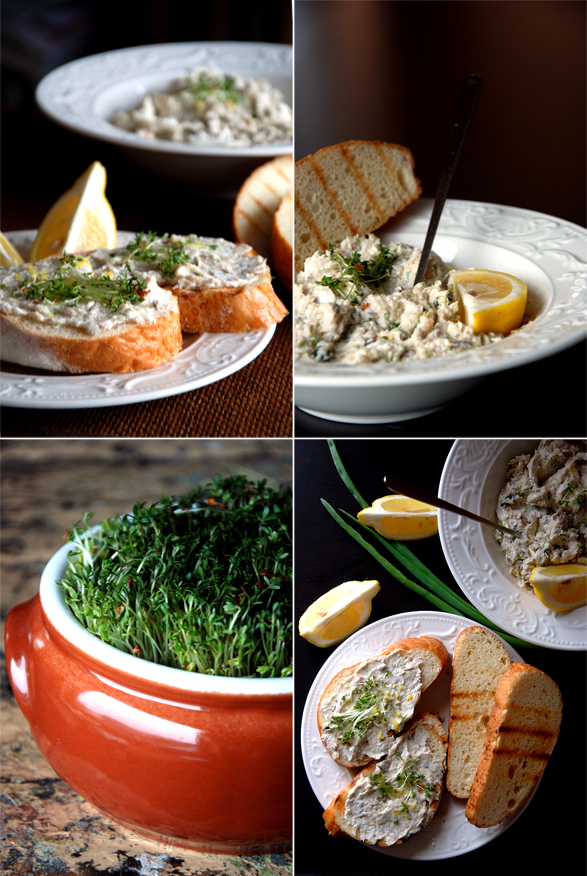 Smoked Mackerel Pate collage min