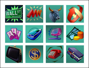 free Wall St Fever slot game symbols