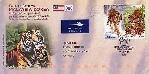 Jahr des Tigers Malaysia
