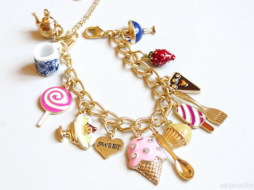 candy shop charm bracelet 1