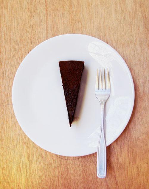 River Cafe Chocolate Almond Cake