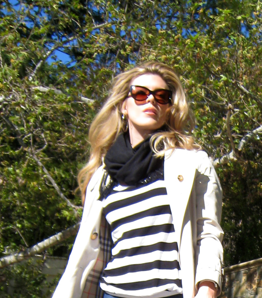 burberry trench and stripes 5