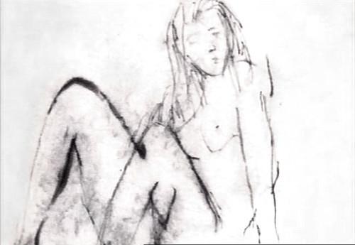 Croquis de Serge Gainsbourg par LucienGrix