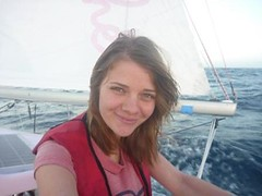 A Bit of Excitement and a Noise in the Night (Jessica_Watson) Tags: world old out person sailing jessica year solo watson be sail around 16 non setting youngest unassisted jessicawatson nonunassisted