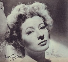 Greer Garson (Silverbluestar) Tags: ladies girls bw classic film beautiful beauty vintage hair stars women pretty european womens redhead 1940s hollywood actress movies british celebrities mgm hairstyles academyaward oscarwinner greergarson metrogoldwynmayer