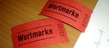 Wertmarken