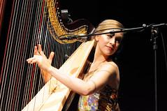 Joanna Newsom (cdubya1971) Tags: columbus ohio music concert live gig band strings harp alternative wexnercenter joannanewsom southerntheater