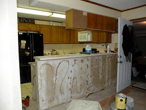 Removing Cabinets A Wall House Of Hepworths