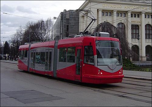 DC streetcar in Ostrava