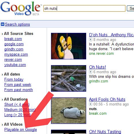 Google Video Drops Playable on Google