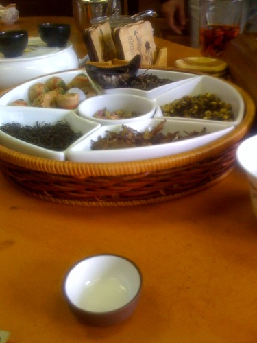 Tea tasting in Chinatown