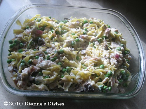 Grown Up Tuna Casserole: Ready for Cheese