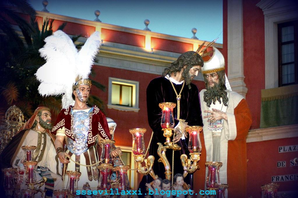 Nuestro Padre Jesús del Soberano Poder ante Caifás. Lunes Santo 2009