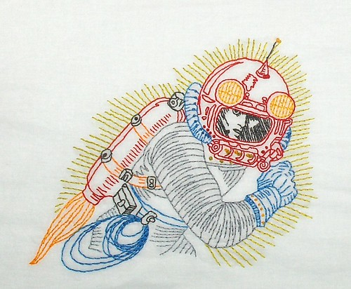 Spaceman - Sew Lovely Embroidery