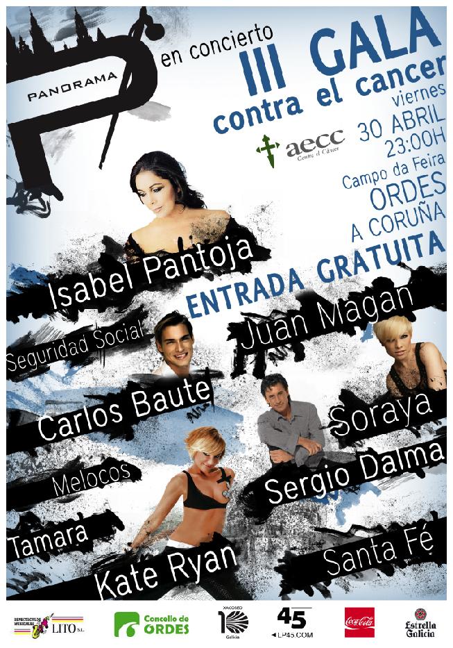 Orquesta Panorama 2010 III Gala contra o cancro