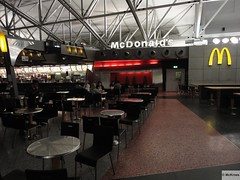 McDonald's Frankfurt Internatinal Airport Terminal 2 Food Plaza (Germany)