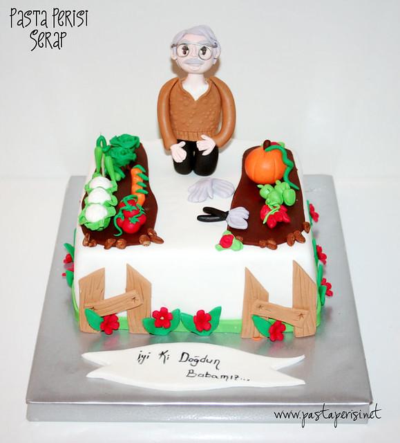 Bahçe pastası
