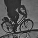 série sombras invertidas - bicicleta / Donau Insel - Wien Österreich