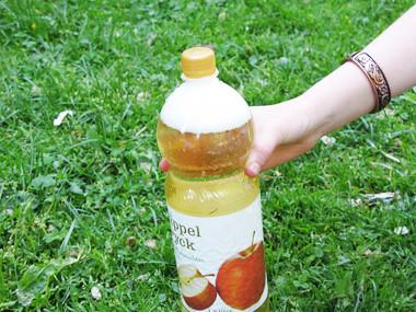 Almas äppelcider var poppis