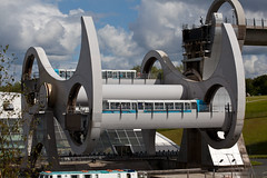 Falkirk Wheel in action