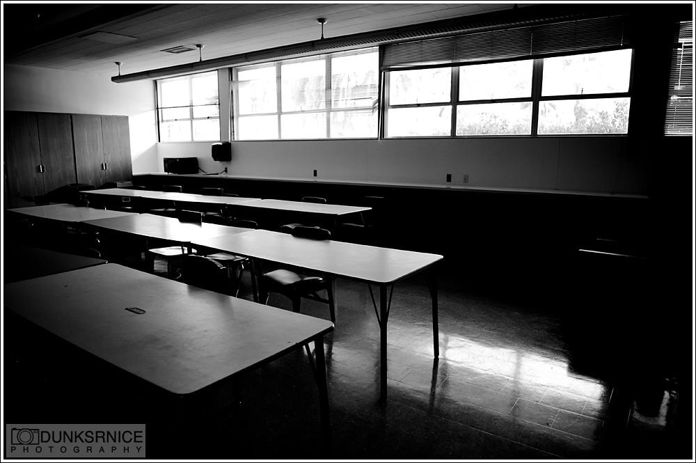Empty B&W.