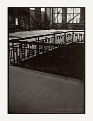 Listed art nouveau complex - soon erased... (Polar Noire) Tags: artnouveau halfframe nordsee wilhelmshaven jugendstil niedersachsen lowersaxony filmphotography jadebusen analogefotografie halbformat sdzentrale photographieargentique agfaparati polarnoire