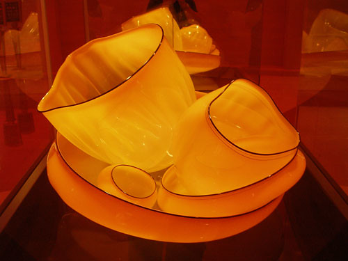 yellow chihuly