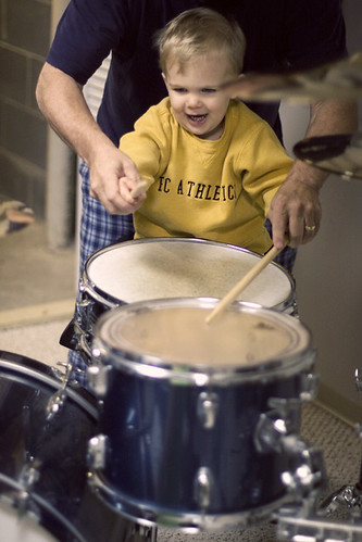 Eli On Drums.
