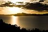 Couché de soleil (lac Titicaca, Pérou ,juillet 2009)