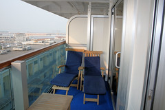 R408 Balcony (Woobstr112g) Tags: barcelona cruise venice rome florence princess lisbon eiffeltower atlantic colosseum trevifountain naples penthouse ruby trans suite med sailaway arcdetriomphe ponte25deabril spanishsteps azores penthousesuite craterlakes 25deabrilbridge chiantiregion r408 pontedelgada october2009 crownclass rubyprincess venicesailaway medtransatlanticcruise phsuite crownclassship