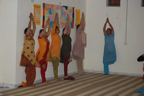 Vrikshasana - Yoga Class Noida - Mrityun by Mrityunjaya Yoga Studio, on Flickr
