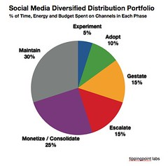 Diversified Distribution Portfolio for Social Media