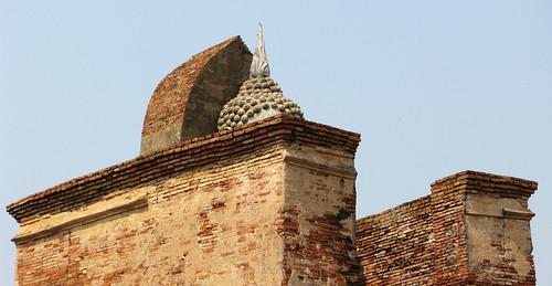 A hint of Buddha - Sukhothai, Thailand