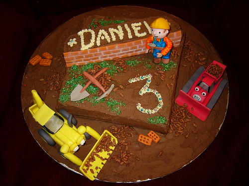 Bob the Builder Cake by