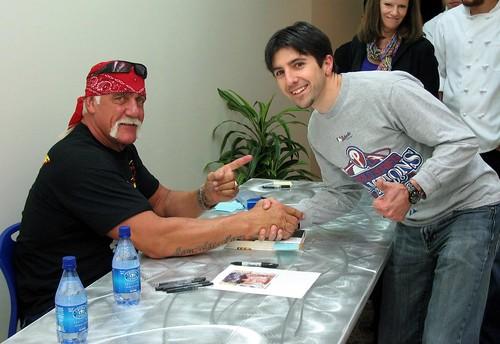 Hulk Hogan visits Google!