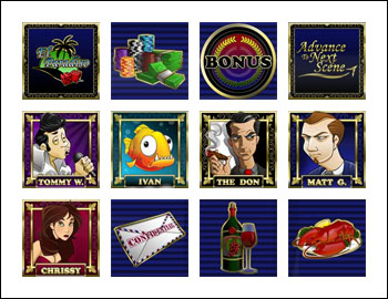 free As the Reels Turn 1 slot game symbols