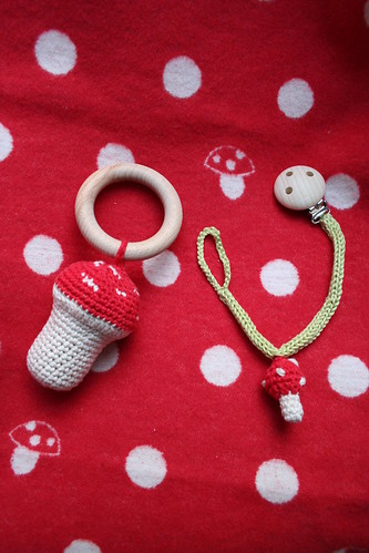 rattle and pacifier chain