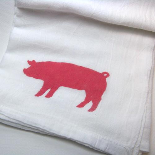 Pork Dish Towel