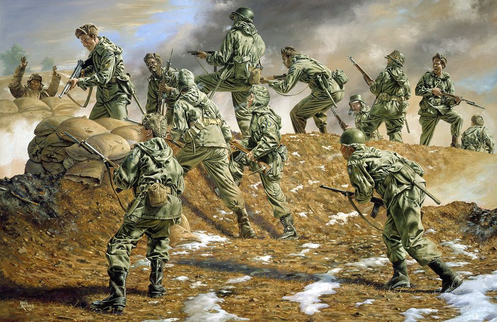 The Sunshine Division in Korea by Rick Reeves