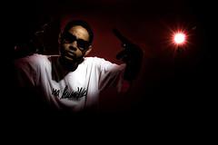 Emicida (fernandomartins) Tags: portrait bravo flash hiphop hip hop rap sunpak snoot atek emicida