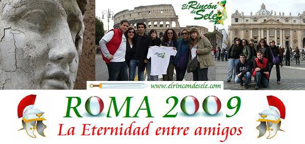Crónica del viaje a Roma de 2009