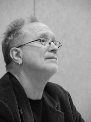 Dr. Bill Ayers (1) (Travelin' Librarian) Tags: bw billayers afcon